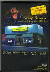Greg Brown...last night at the Mill